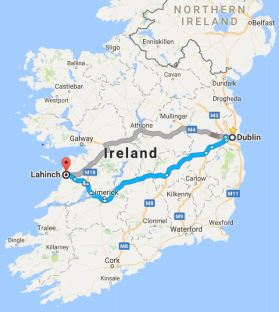 Dublin to Lahinch